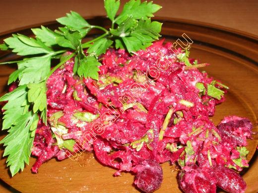 Простые рецепты салаты со свеклой
