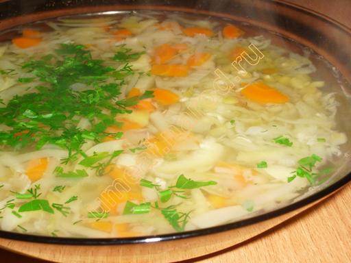 суп с кабачками цукини рецепты